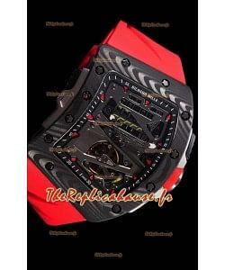 Richard Mille RM70-01 montre réplique suisse avec boîtier en carbone