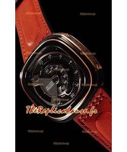 Seven Friday M2B/01 avec mouvement MIYOTA original - qualité à miroir 1:1
