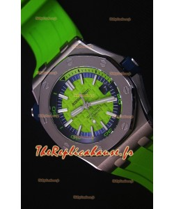 Audemars Piguet Royal Oak New Diver, Montre Réplique Suisse 1:1 en Vert