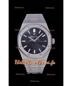 Audemars Piguet Royal Oak 41MM Cadran Bleu 904L Acier - Réplique miroir 1:1