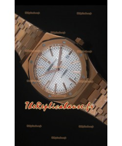 Montre en Or Rose Royal Oak 42MM Audemars Piguet - Ultimate 1:1 Mouvement 3120