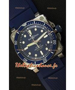 Montre Bell & RossBR03-92 Suisse bleu de plongée Réplique à l'identique 1:1