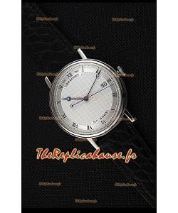 Montre Breguet Classique5177BB/15/9V6 en acier inoxydable avec index romains