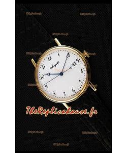 Montre Breguet Classique5177BA/29/9V6 en or jaune avec index arabes