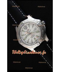 Montre Breitling Chronomètre COLT41 Suisse automatique à cadran blanc Réplique