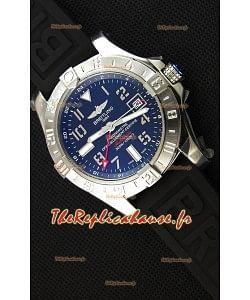 Montre Breitling Avenger II GMT Swiss cadran noir Réplique à l'identique 1:1