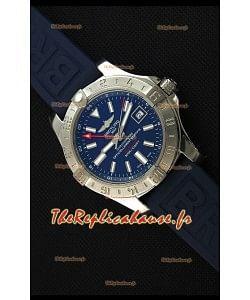 Breitling Avenger II GMT  Montre Réplique Suisse 1:1 Miroir En cadran bleu
