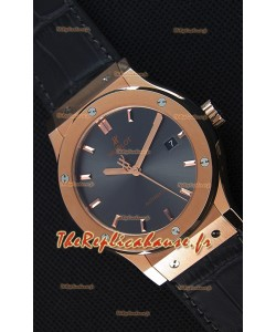 Montre Hublot Classic Fusion Racing Grey King Gold Suisse Réplique à l'identique 1:1
