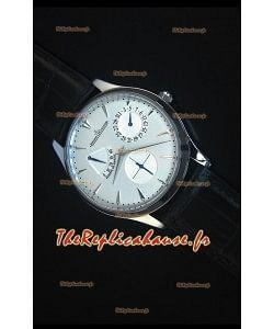 Jaeger-LeCoultre Ref.1378420 Master Ultra Fine Réserve De Marche 1:1 Reproduction de Montre Miroir