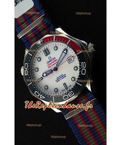 Montre Omega Seamaster Diver300M 007 Commander's Édition Suisse Limitée Répliquée à l'identique 1:1