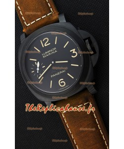 Panerai Luminor Marina Carbotech Beverly Hills Boutique Édition Montre Réplique Suisse