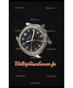 Patek Philippe Aquanaut Montre Réplique Suisse avec Cadran incrusté de diamants