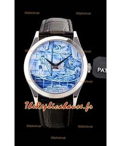 """Patek Philippe 5089G-062 """"The Barge"""" Edition suisse 1:1 Réplique de montre à miroir"""