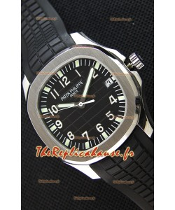 Montre Patek Philippe Aquanaut5167A-001 Suisse Cadran Noir Réplique à l'identique 1:1