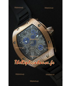 Montre Richard Mille RM018 Tourbillon Hommage A Boucheron Suisse Boîtier Rose Or Répliquée