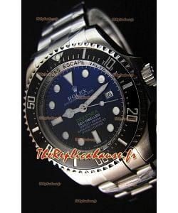 Montre Rolex Sea-Dweller REF# 116660 Deep Sea Blue Suisse Répliquée à l'identique 1:1 — Montre ultime en acier904L