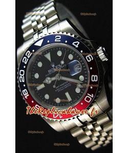 Montre Rolex GMT MastersII 116719BLRO Lunette Pepsi Mouvement SuisseCal.3186 — Montre en acier ultime 904L