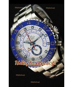 Rolex Yachtmaster II Acier Inoxydable  Ref.116680 Montre Réplique 1:1 Miroir  (Édition Chronomètre fonctionnel)
