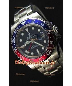 Rolex GMT Masters II 116719BLRO Pepsi Bezel Cal.3186 Mouvement Montre Réplique Suisse - Ultime Acier 904L