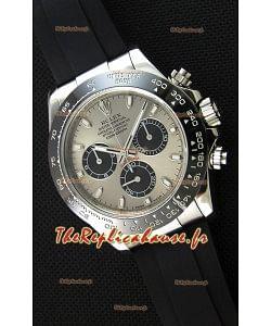 Rolex Cosmograph Daytona 116519LN  Mouvement Original Cal.4130- Montre Amélioré Ultime Acier 904L