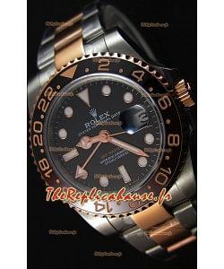 Rolex GMT Masters II 126711CHNR acier et or bicolore Or rose Montre Réplique Suisse -  Ultime Acier 904L