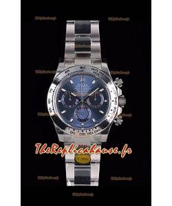 Rolex Daytona 116508 Or blanc Original Cal.4130 Mouvement - Montre en acier 904L à miroir 1:1