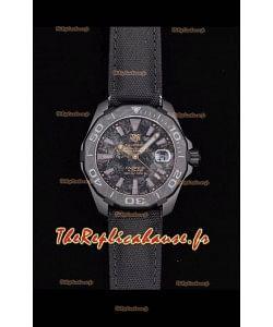 Tag Heuer Aquaracer Calibre 5 Titane Carbone 41MM 1:1 Réplique de montre à miroir