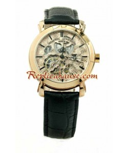 Vacheron Constantin Skeleton Round Montre Replique