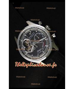 Réplique de montre Zenith El Primero Chronomaster 42mm de réserve de puissance et remontage manuel avec cadran gris